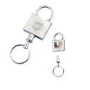 KM-7041 Carry Your Favorite Photos with This Pull-Apart Valet Key Tag In Shiny Nickel Finishes
