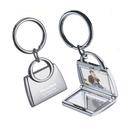 Custom KM-7046 Cloth Hanger Design Key Holder with 3 Removable Split Rings