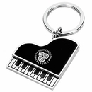 Custom KY-3047 Metal Piano Shape Key Chain