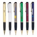 Custom PB-101 Twist Action Brass Ballpoint with Gold Trims