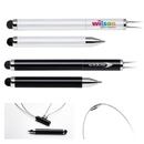 Custom PP-115 Capacitive Stylus with Cap-Off Magnetic Ballpoint Pen