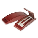 Custom PPK-510 Terrific Wood Double Pen Box, 8-1/8
