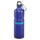 Custom AT713A 26 oz Aluminum Bottle w/ Ridge