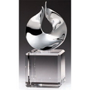 Custom AYJ340S The Alfa Elite Collection, Metal Flame on Crystal Cube 4