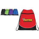 Custom BP10201 Pocket Drawstring Backpack