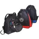 Custom BP196 Expandable Poly Drawstring Backpack