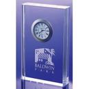 Custom COCLK43 The Alfa Crystal Clock Collection, Crystal Illusion Clock 4 1/2
