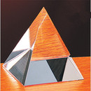 Custom CPY03 The Alfa Crystal Collection, Crystal Pyramid 5 3 1/4