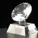 Custom CRK34 The Alfa Crystal Diamond Collection, Crystal Diamond Rock 3 1/4