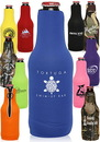 Custom Neoprene Zippered Bottle Coolies
