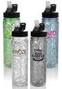 Blank 18 oz. Arctic Plastic Freezer Water Bottles