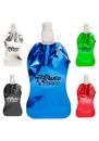 Custom 13.5 oz. Metallic Plastic Water Bottles