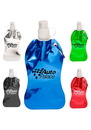 Blank 13.5 oz. Metallic Plastic Water Bottles