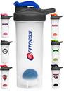 Blank 24 oz. Atlas Plastic Shaker Bottles