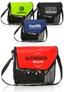 Custom 13W X 14 H Slant Flap Messenger Bags