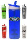 Custom 29 oz. Titan Plastic Shaker Bottles With Straw