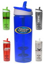 Blank 29 oz. Titan Plastic Shaker Bottles With Straw