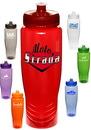 Custom 28 oz. Plastic Push Top Water Bottles
