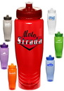 Blank 28 oz. Plastic Push Top Water Bottles