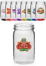 Custom 8 oz. Small Color Mason Jars