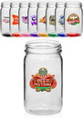 Blank 8 oz. Small Color Mason Jars