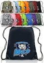 Custom 14W X 16H Polyester Drawstring Bags