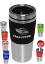 Custom 16 oz. Stainless Steel And Plastic Tumbler