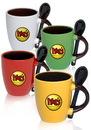 Custom 3 oz. Alena Espresso Mugs Spoons
