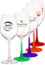 Custom 13.25 oz. 100% Lead Free Crystal Wine Glasses