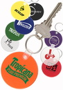 Custom Round Soft Key Tag