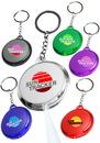 Custom Round Translucent Light Keychains