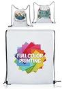 Custom 14W X 17H Full Color Drawstring Bags