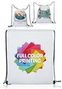 Blank 14W X 17H Full Color Drawstring Bags