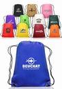 Custom 14W X 17H Drawstring Backpacks