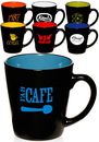 Blank 12 oz. Two Tone Latte Mugs