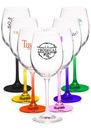 Blank 14 oz. Lead Free Crystal Wine Glasses