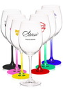 Blank 19 oz. Lead Free Crystal Wine Glasses