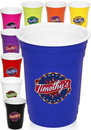 Custom 16 oz. Double Wall Plastic Party Cups