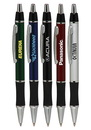Blank Metallic Action Writing Pens