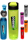 Blank 24 oz. Flip Top Slim Water Bottles