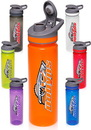 Custom 22 oz. Flip Top Plastic Sports Bottles