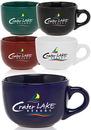 Blank 18 oz. Cappuccino Mugs Soup Mugs
