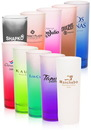 Blank 2 oz. Colored Frosted Shot Glasses