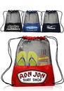 Custom 13W X 17H Mesh Drawstring Backpacks