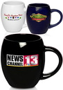Custom 19 oz. Coffee Barrel Mugs
