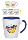 Custom 12 oz. Miami Two-Tone Latte Mugs