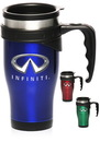 Blank 16 oz. Insulated Travel Mugs