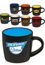 Custom 9 oz. Two-Tone Ceramic Mugs