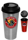 Custom 16 oz. Flash Double Wall Stainless Steel Tumblers