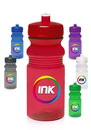 Custom 20 oz. Push Cap Bike Plastic Water Bottles